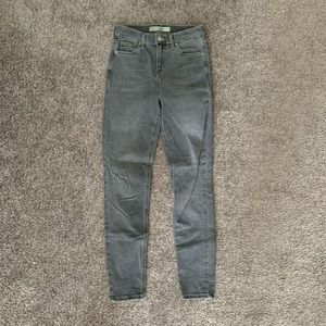 Topshop gray jeans